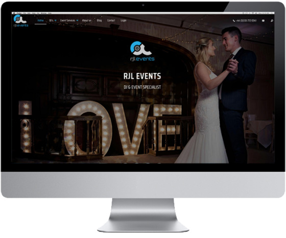 New Website For RJL Events
