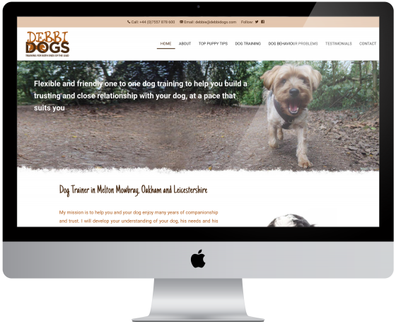 New Website For DebbiDogs