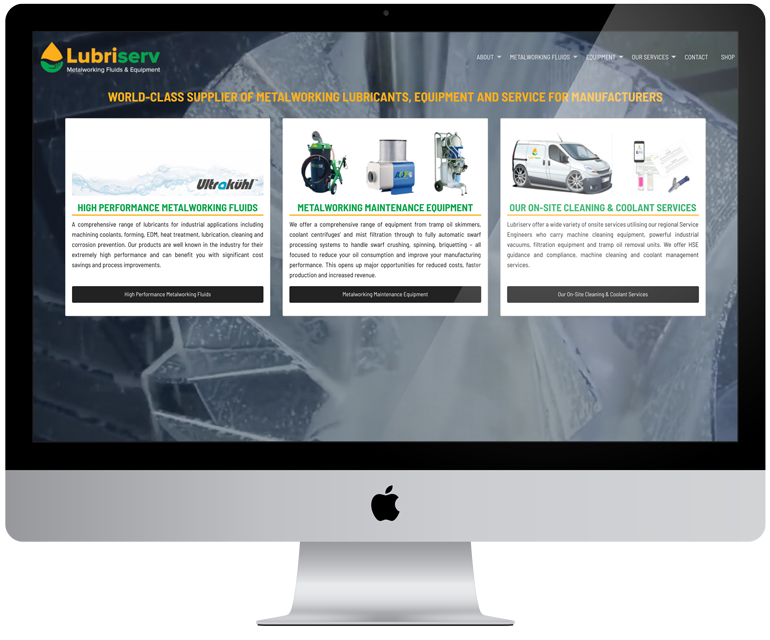New Website for Lubriserv