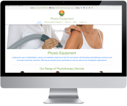 Website Launched For PhysioEquipment