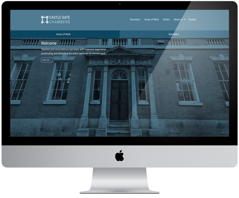 New Website for Barristers at Castle Gate Chambers