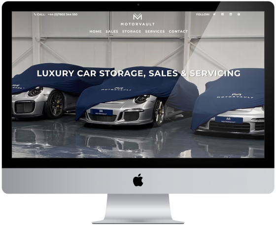 New Website for MotorVault