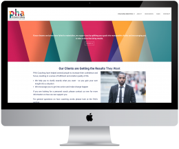 Website for PHA Coaching