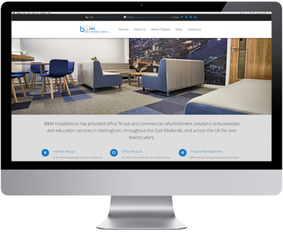 New Website for B&M Installations