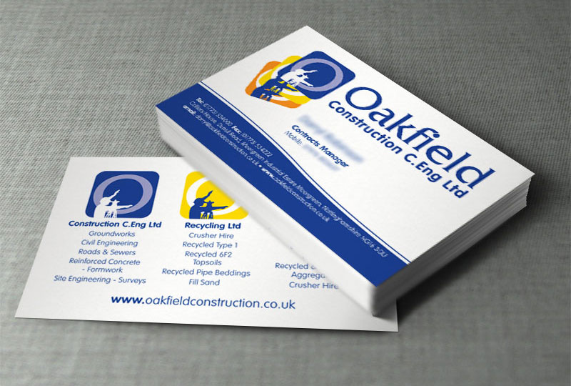 Oakfield Business Cards