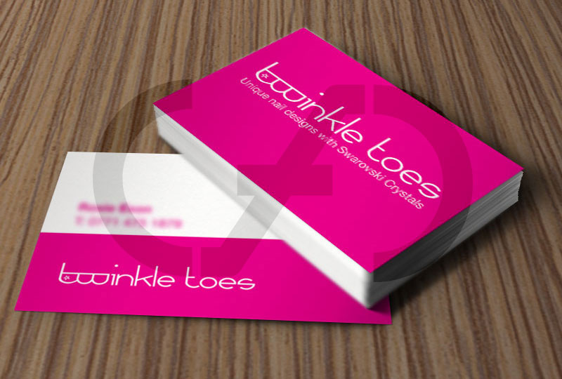 Twinkle Toes Business Cards