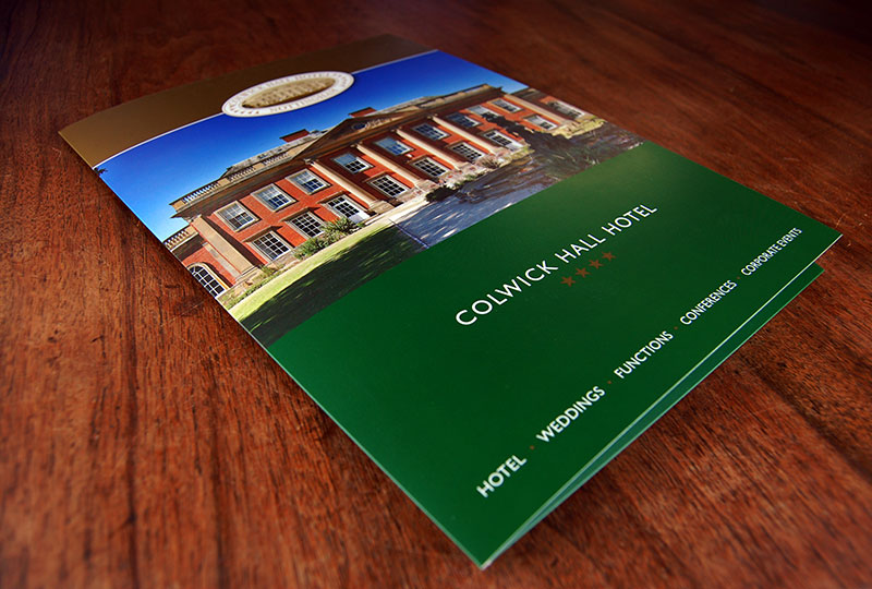 Colwick Hall Hotel Presentation Folder