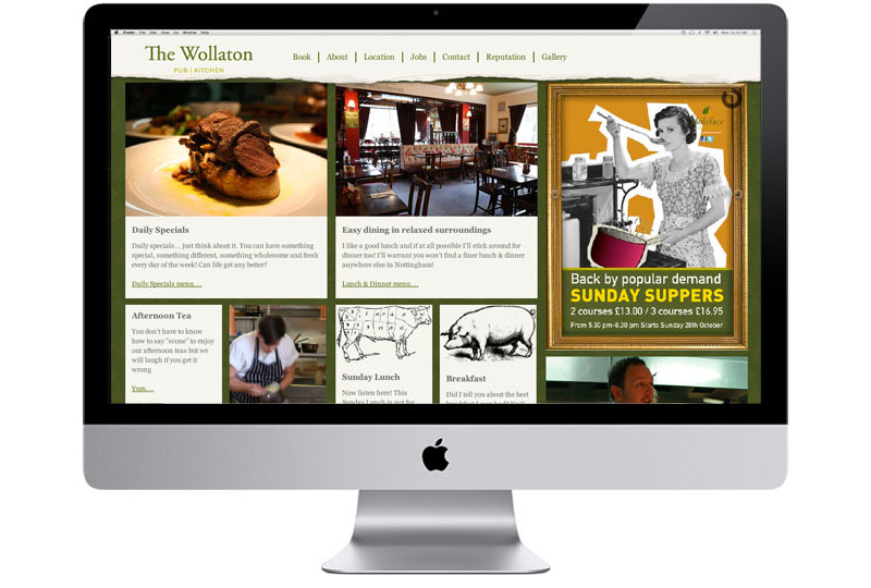 The Wollaton Website