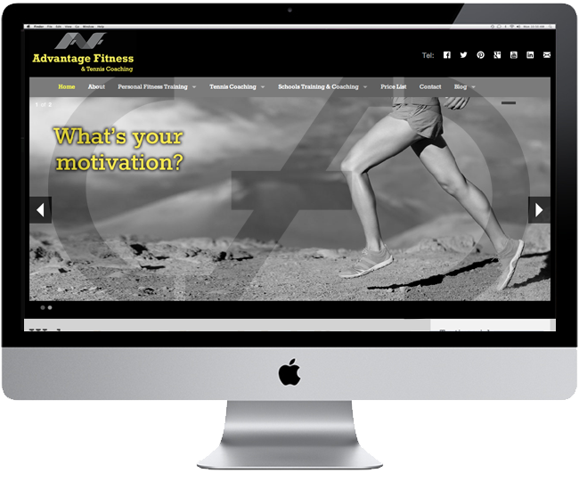 New Website for Advantage Fitness